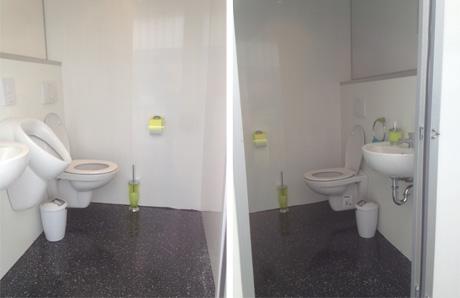 VIP toiletwagen klein huren Lokeren