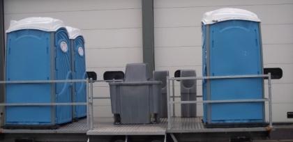 Chemische toiletwagen groot huren Lokeren