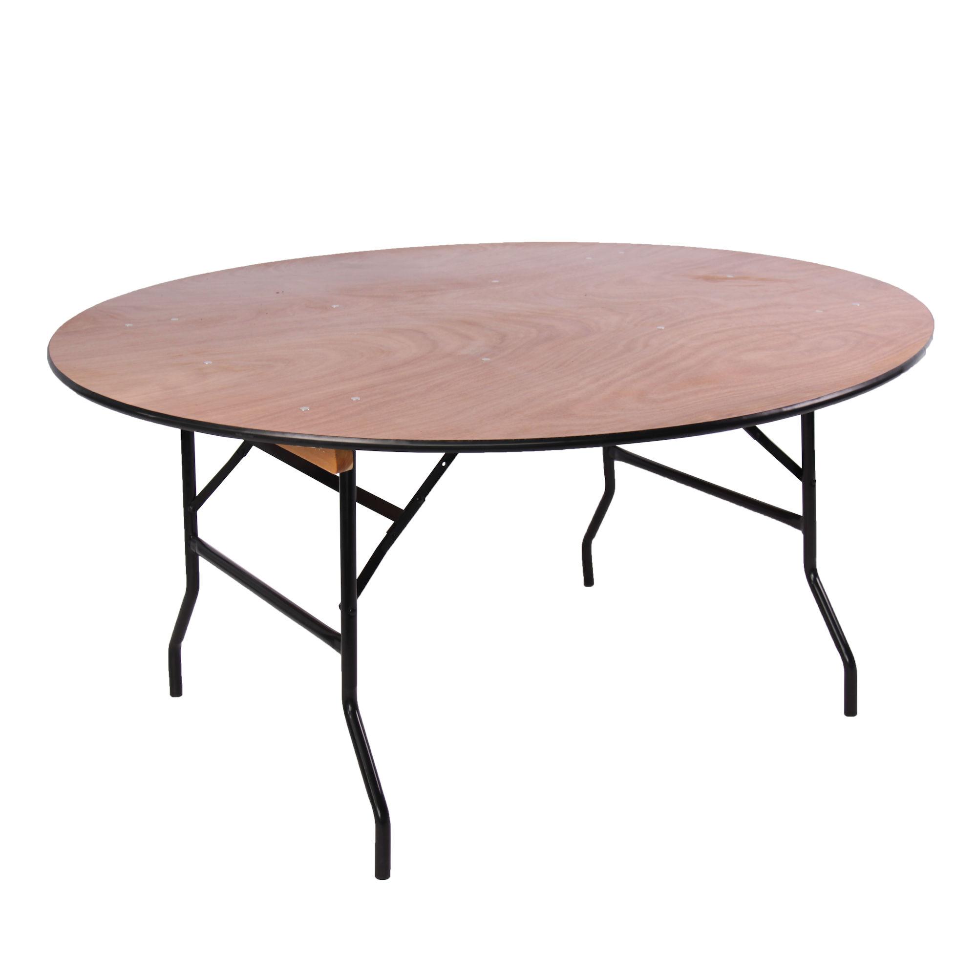 Bankettafel rond 150 cm huren Lokeren