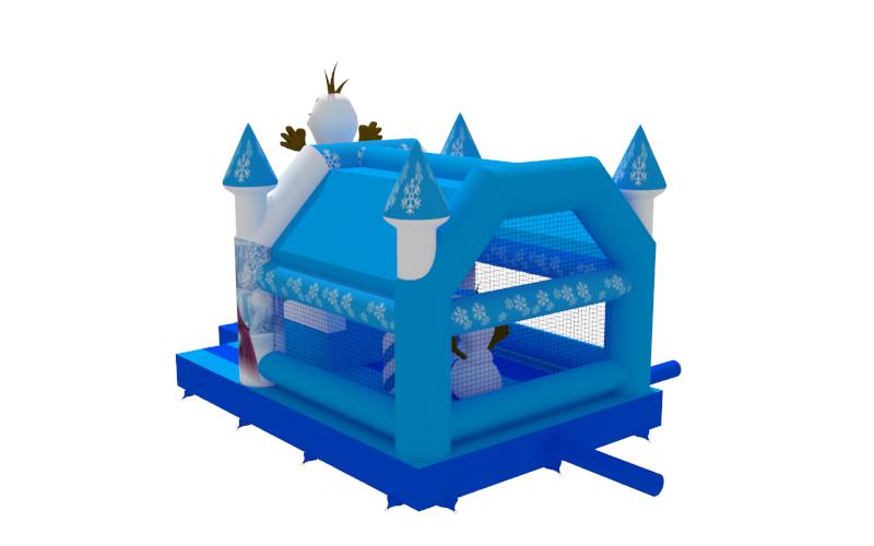 Springkasteel Wintertime - Frozen huren Lokeren
