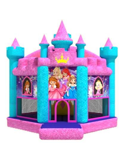 Springkasteel Glitterprinses huren Lokeren